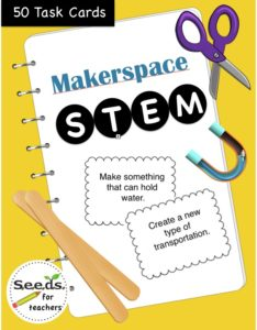 Stem Tasks cards for your Makerspace