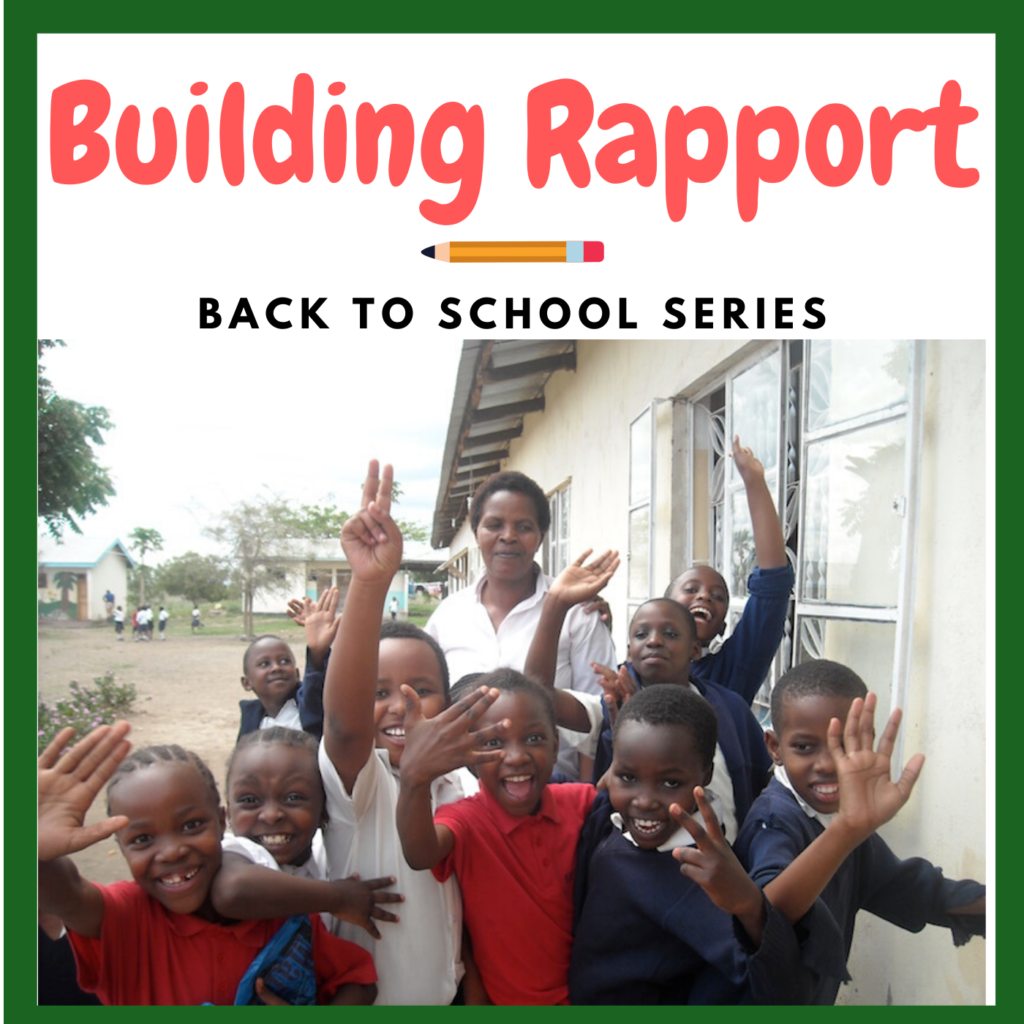 Build Rapport With Students