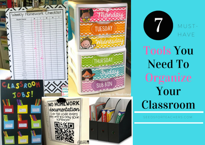 7 Tools You Need To Organize Your Classroom