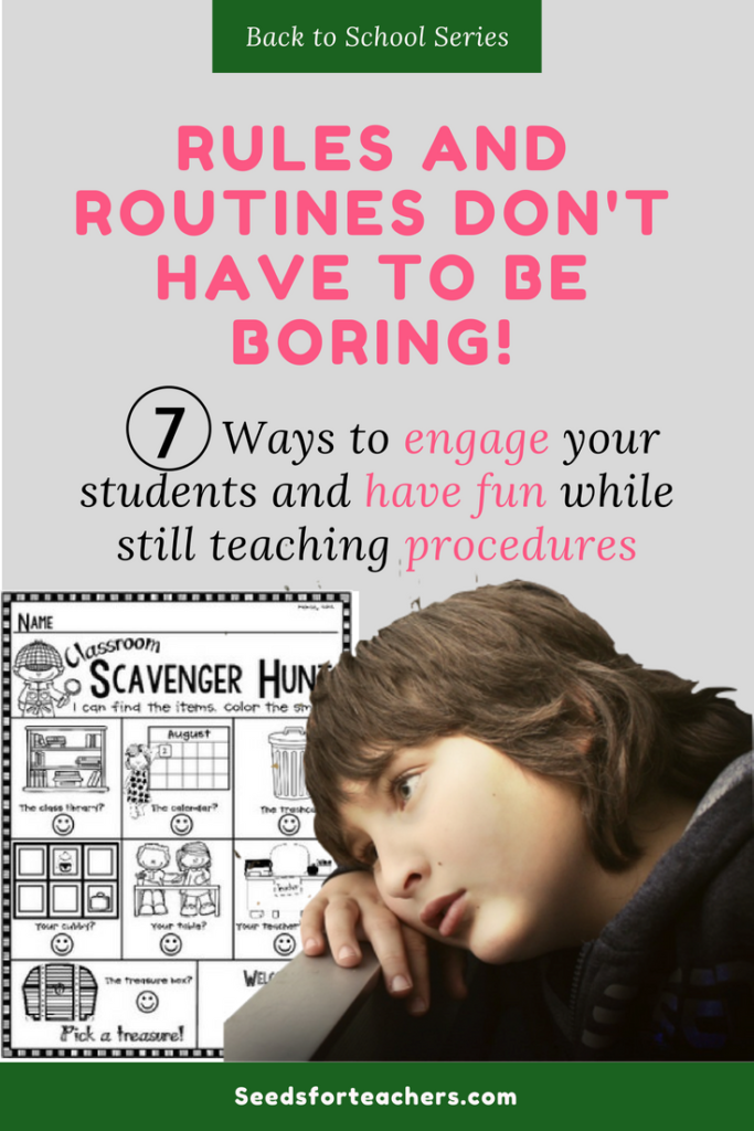Teaching Rules and Routines