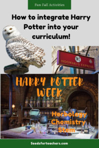 How to integrate Harry Potter into your curriculum