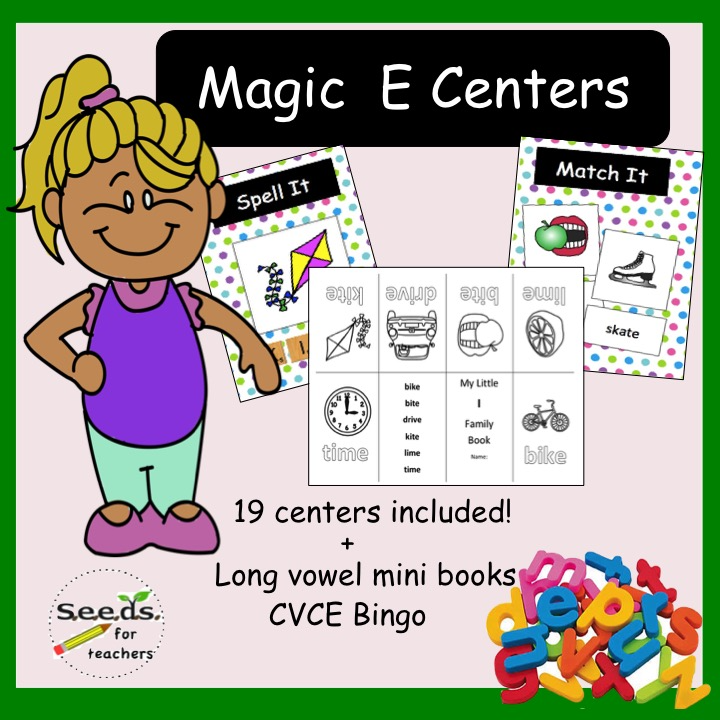 Magic E centers book image