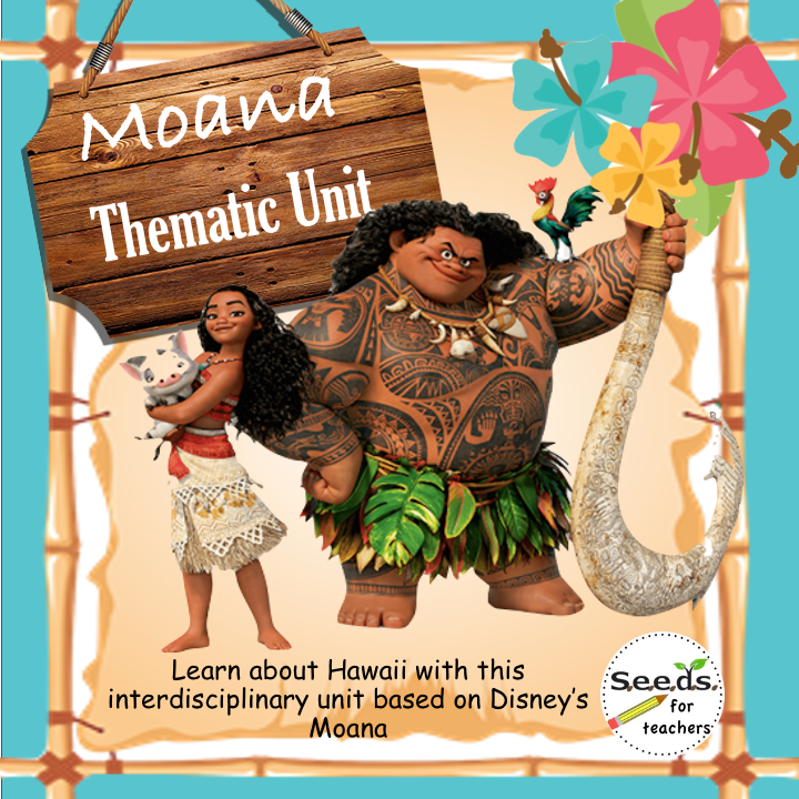 Moana thematic unit image